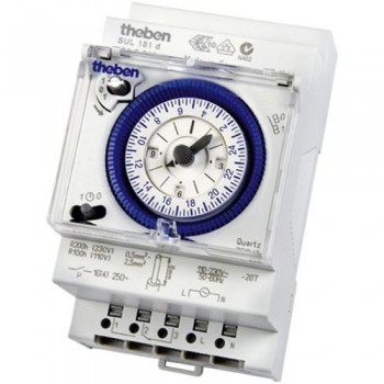 Timeguard SUL 181 d 24 Hour Segment Timeswitch with power reserve [3 Module]