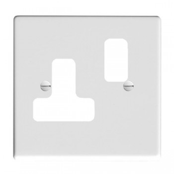 Hamilton Hartland Grid Gloss White SS1 Grid Fix Aperture Plate