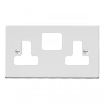 Hamilton Hartland Grid Gloss White SS2 Grid Fix Aperture Plate