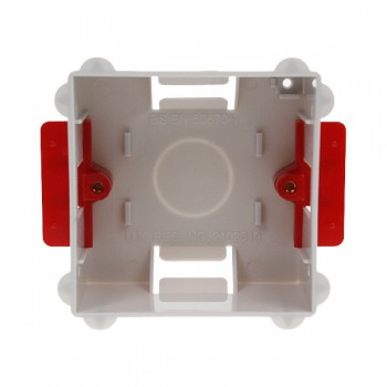 Deta Electrical DB2547 1 Gang 35mm Flush Dry Lining Box for Flat Plate Fittings