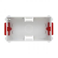 Deta Electrical DB2548 2 Gang 35mm Flush Dry Lining Box for Flat Plate Fittings