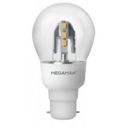 Megaman Incanda-LED 6W 2800K Dimmable B22 Classic Bulb