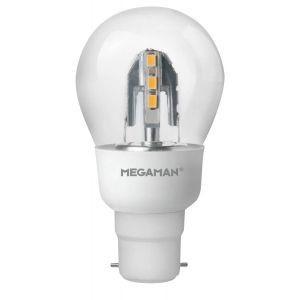 Megaman Incanda-LED 6W 2800K Dimmable B22 Classic Bulb