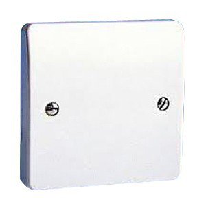MK Electric Logic Plus™ White 20A 1 Gang Flex Outlet Plate