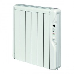 Elnur Heating RX6E 0.75kw Thermal Inertia Radiator With Digital Control and Programmer
