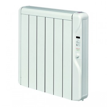 Elnur Heating RX8E 1kw Thermal Inertia Radiator With Digital Control and Programmer