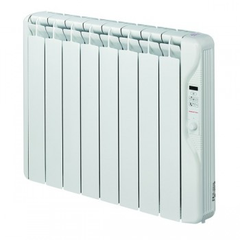 Elnur Heating RF8E 1kw Thermal Inertia Radiator With Digital Control and Programmer