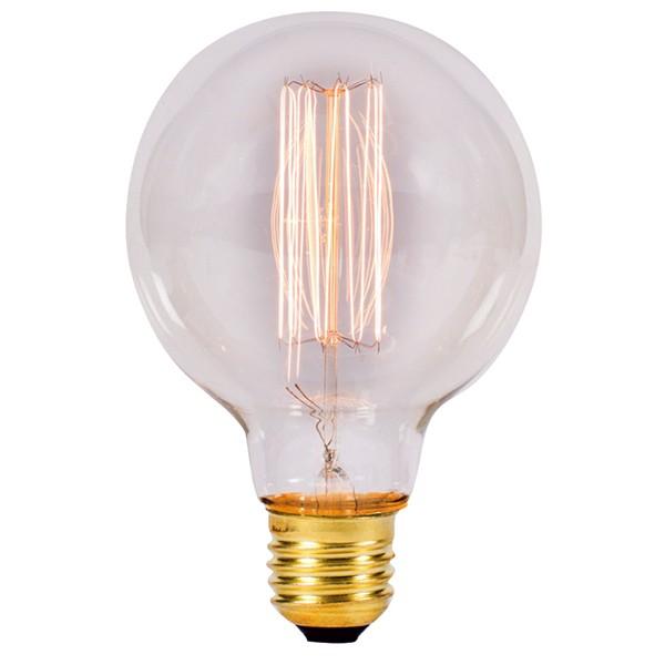 Bell Lighting 01484 60W Clear Vintage Globe Lamp (ES/E27)