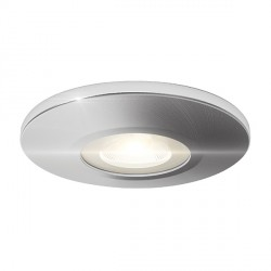 Ansell Satin Chrome Bezel for Orbio 360 and 360 Gimbal LED Downlights
