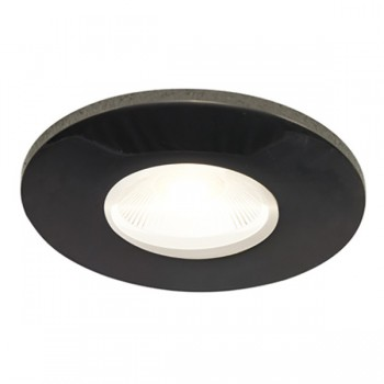 Ansell Black Chrome Bezel for Orbio 360 and 360 Gimbal LED Downlights