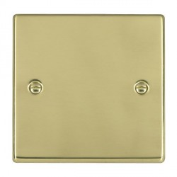 Hamilton Hartland Polished Brass Single Blank Plate