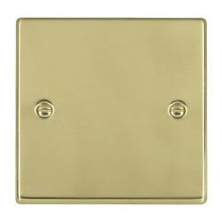 Hamilton Hartland Polished Brass Single Blank Plate