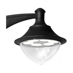 Fumagalli V50.254.AXD6L Vivi 400 60W GX53 LED Wall Mounted Black Lantern