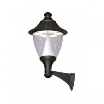 Fumagalli F50.254.AX.D6L Gino 400 60W GX53 LED Wall Mounted Black Lantern