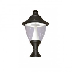 Fumagalli F50.115.AX.C6L Gino 400 42W GX53 LED Black Pedestal Lantern