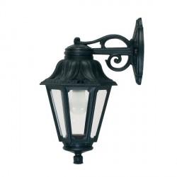Fumagalli E22.131.AX.E27 Anna Bisso Wall Mounted Black Lantern