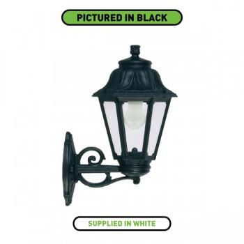 Fumagalli E22.131.WX.E27 Anna Bisso Wall Mounted White Lantern