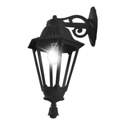 Fumagalli E26.131.AX.E27 Rut Bisso Wall Mounted Black Lantern