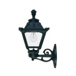 Fumagalli Q23.131.AX.E27 Golia Bisso Wall Mounted Black Lantern