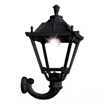 Fumagalli Q33.132.AX.E27 Tobia Ofir Wall Light Black Lantern
