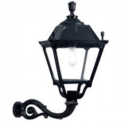 Fumagalli Q43.171.AX.E27 Elia Adam Wall Mounted Black Lantern