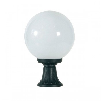 Fumagalli G30.111.AY.E27 Globe 300 Minilot 445mm Black Pedestal Light