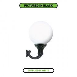 Fumagalli G40.132.WY Globe 400 Ofir Wall Light White Lantern