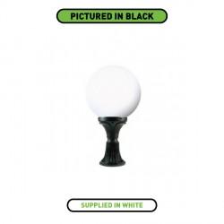 Fumagalli G40.113.WY Globe 400 590mm Pedestal White Lantern