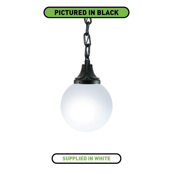 Fumagalli G40121WY Globe 400 Pendant White Lantern At UK