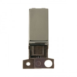 Click Minigrid MD002BN Black Nickel 10AX 2 Way Ingot Switch Module