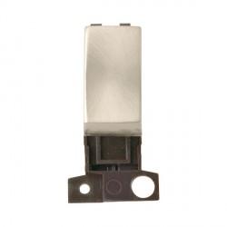 Click Minigrid MD028SC 10AX Intermediate Ingot Switch Module Satin Chrome