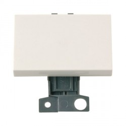 Click Minigrid MD009PW 10AX 2 Way Paddle Switch Module Polar White