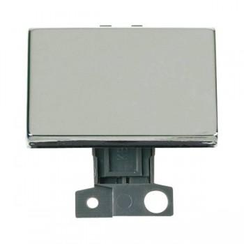 Click Minigrid MD009CH 10AX 2 Way Ingot Paddle Switch Module Chrome
