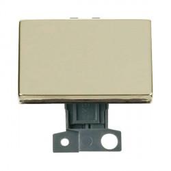 Click Minigrid MD009BR 10AX 2 Way Ingot Paddle Switch Module Brass