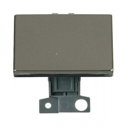 Click Minigrid MD009BN 10AX 2 Way Ingot Paddle Switch Module Black Nickel