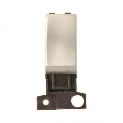 Click Minigrid MD018SC 13A Resistive 10AX DP Ingot Switch Module Satin Chrome