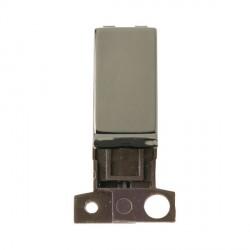 Click Minigrid MD018BN 13A Resistive 10AX DP Ingot Switch Module Black Nickel