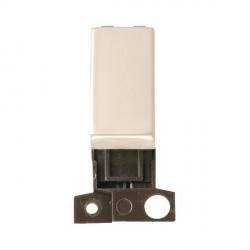 Click Minigrid MD018PN 13A Resistive 10AX DP Ingot Switch Module Pearl Nickel