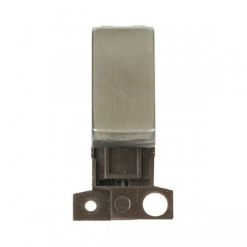 Click Minigrid MD018SS 13A Resistive 10AX DP Ingot Switch Module Stainless Steel