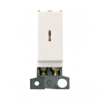 Click Minigrid MD003PW 10AX 2 Way Keyswitch Module Polar White