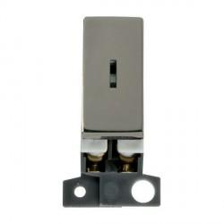 Click Minigrid MD003BN 10AX 2 Way Ingot Keyswitch Module Black Nickel