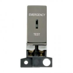 Click Minigrid MD029BN 10AX DP Keyswitch Emergency Test Module Black Nickel