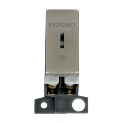 Click Minigrid MD029SS 10AX DP Ingot Keyswitch Emergency Test Module Stainless Steel