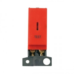 Click Minigrid MD046RDTT 13A/ 10AX DP Keyswitch Module Red Test