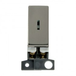 Click Minigrid MD046BN 13A/ 10AX DP Ingot Keyswitch Module Black Nickel