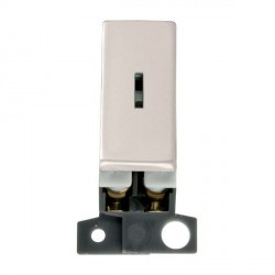Click Minigrid MD046PN 13A/ 10AX DP Ingot Keyswitch Module Pearl Nickel