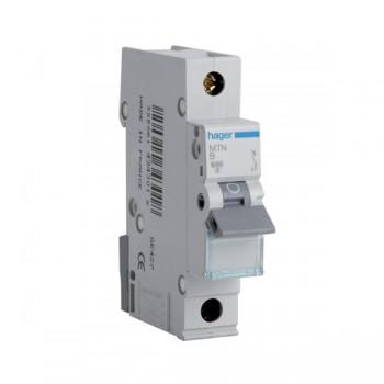 Hager MTN150 50amp Type B 6kA Single Pole MCB