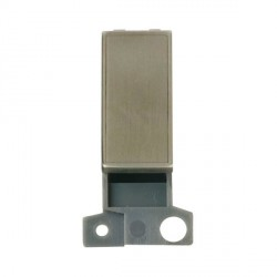Click Minigrid MD008SS Blank Module Stainless Steel
