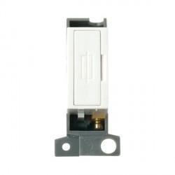 Click Minigrid MD047WH 13A Fused Connection Unit Module White