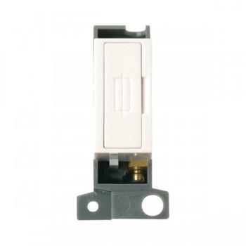 Click Minigrid MD047PW Polar White 13A Fused Connection Unit Module